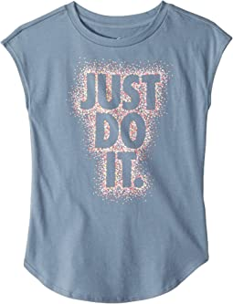 Dot Burst Just Do It Modern Short Sleeve Tee (Little Kids)