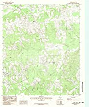 YellowMaps Gary TX topo map, 1:24000 Scale, 7.5 X 7.5 Minute, Historical, 1983, Updated 1983, 27 x 23 in