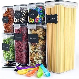 Chef's Path Boite Alimentaire Hermétique – Set de 7 Boite Conservation Alimentaire - Organisation Cuisine et Garde-Manger ...