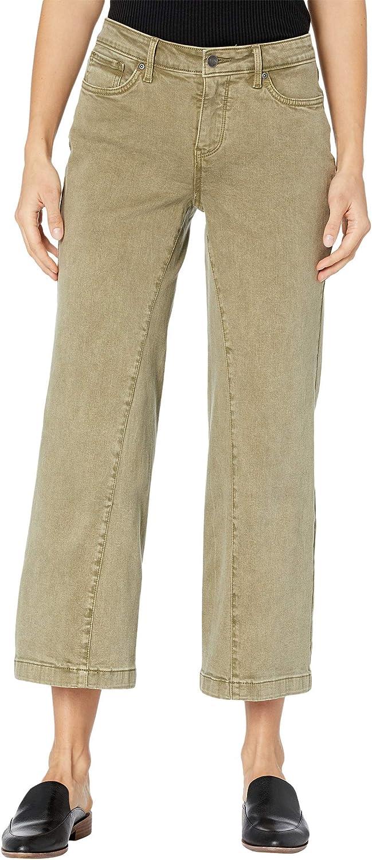 NYDJ Teresa Wide Leg Ankle Jeans in Marisol Moss