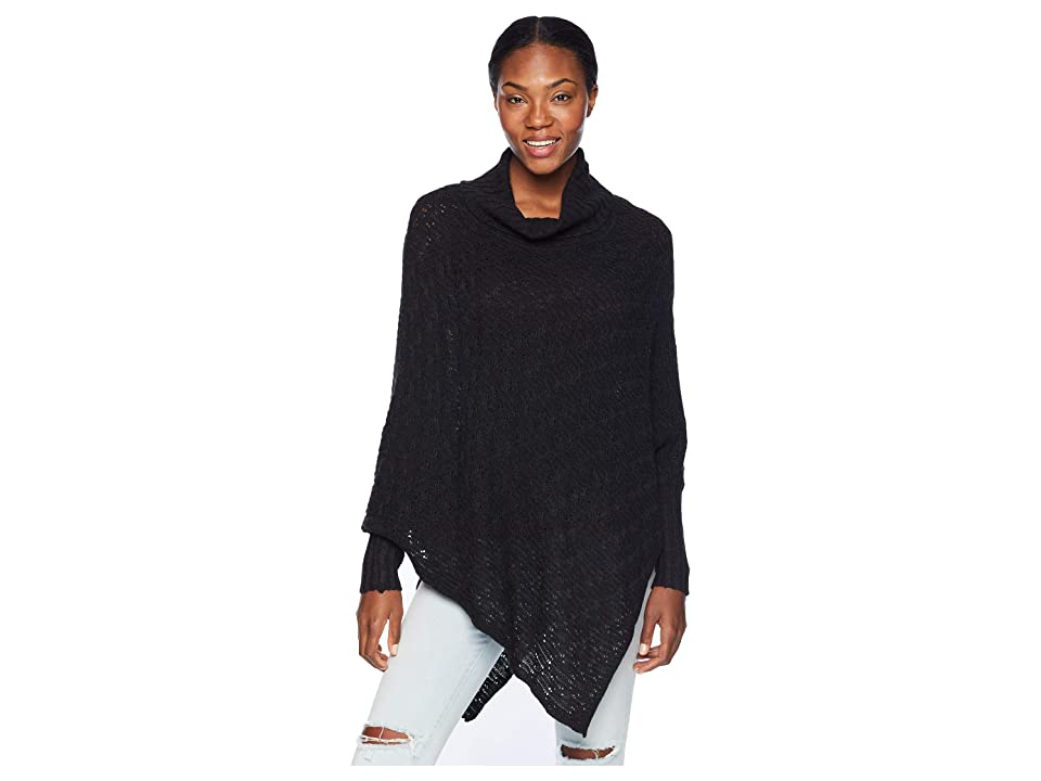 Aventura Clothing Chelsea Poncho (Black) Women