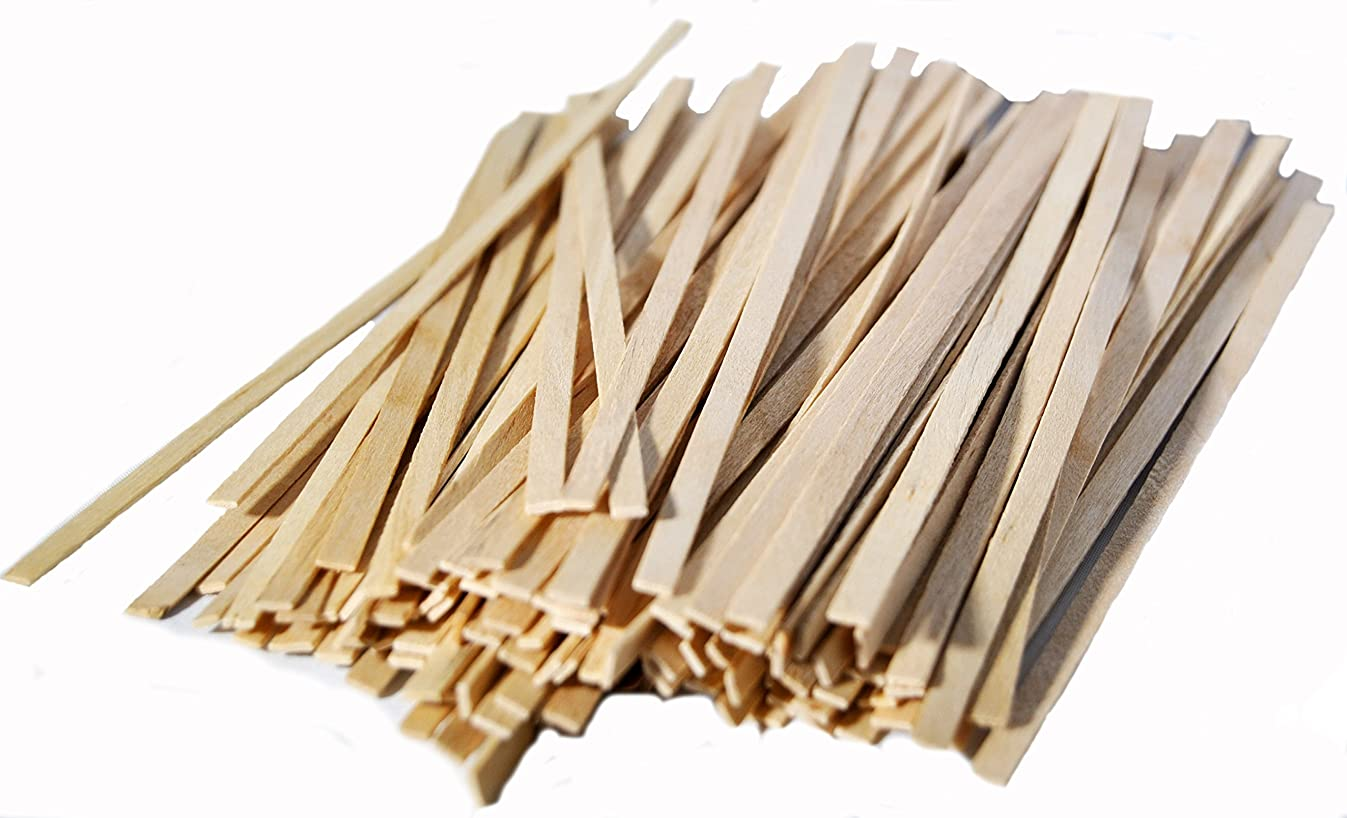 Perfect Stix Perfectware PW CS 200-2000ct Wooden Coffee Stirrer with Square Ends, 5.5
