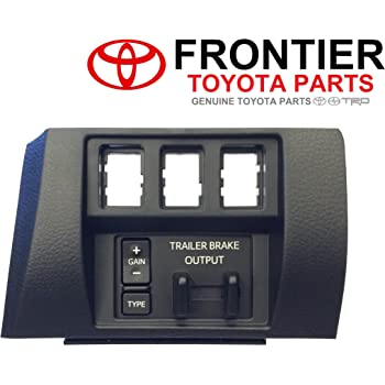 Genuine Toyota Trailer Brake Controller 89547-0C011 with Dash Bezel 55447-0C020-C0. 2016-2017 5.7L Tundra Only.