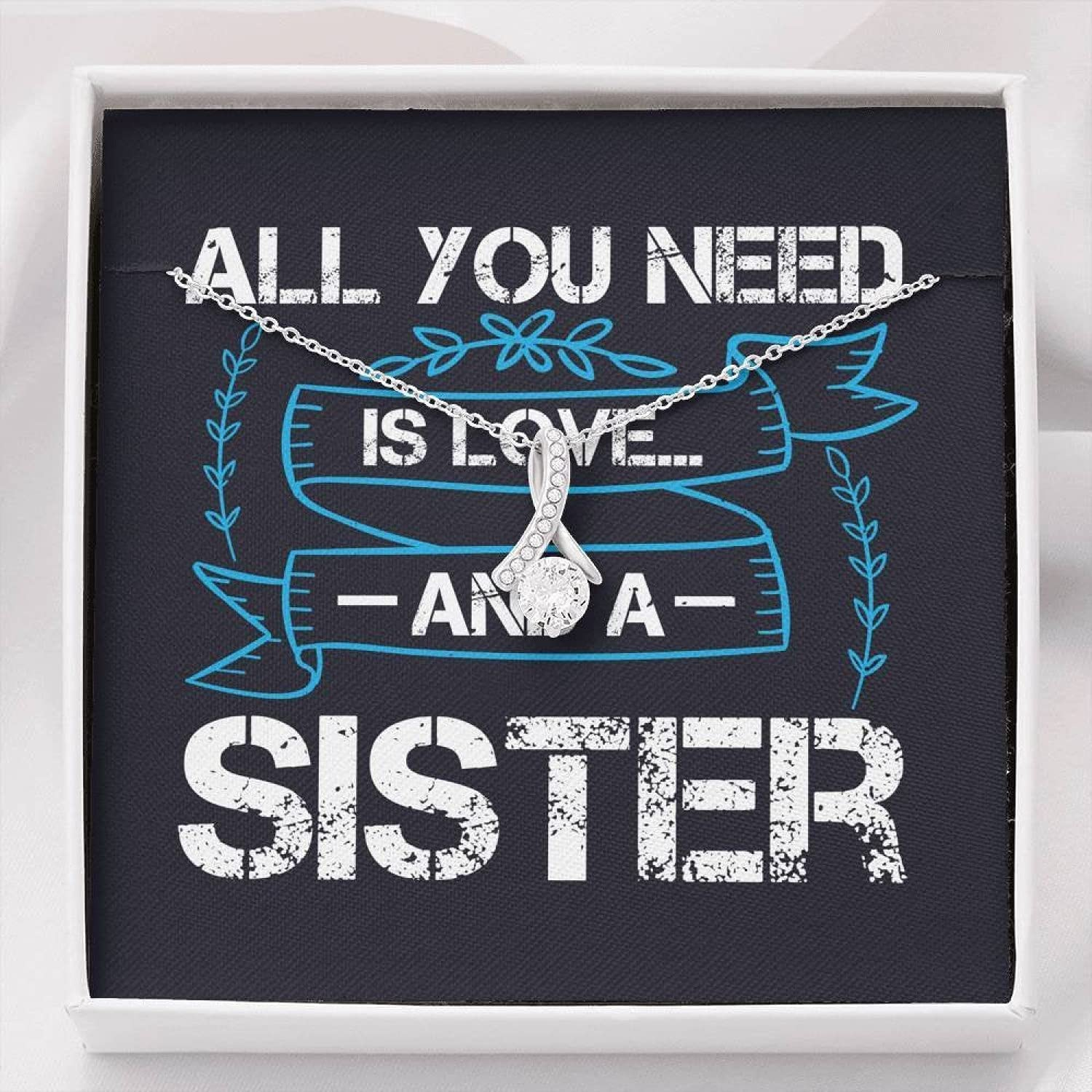 Personalized Gift Sister Some reservation Outlet ☆ Free Shipping Necklace for Birthday Her Gi Valentines