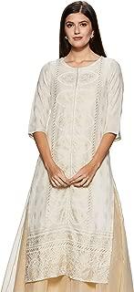 W for Woman 3/4th Sleeve Kalidaar Kurta