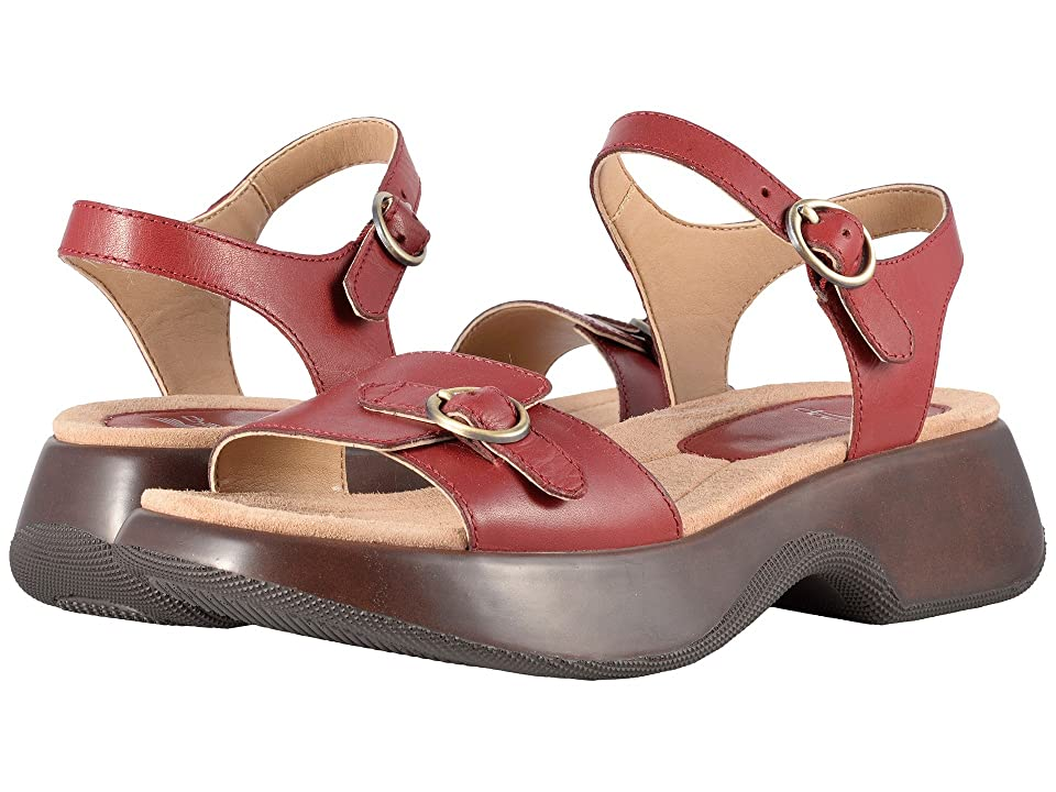 Dansko Lynnie (Red Full Grain) Women