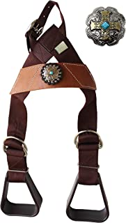 CHALLENGER Horse Saddle Western Kids Child Youth Pony Buddy Stirrups w/Concho 5138CO545