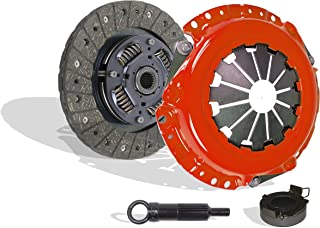 Clutch Kit Works With Toyota Mr-2 Celica Tercel Corolla Geo Prizm Base GSi LSi GTS All Trac 1990-1992 1.6L l4 2.2L l4 GAS DOHC Naturally Aspirated (Stage 1; VIN A 4AFE; VIN A 4AGELC; Vin E 3E; VIN 5)
