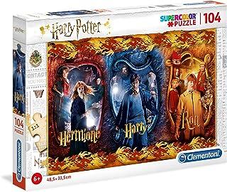 Clementoni- Harry Potter Potter-104 pièces-Puzzle Enfant-fabriqué en Italie, 6 Ans et Plus, 61885, Multicolore