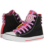Converse Kids - Chuck Taylor All Star Loopholes Emoji Hi (Little Kid/Big Kid)