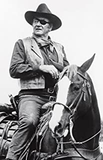 Metal Tin Sign 8x10 From A Photo Or Poster John Wayne The Duke True Grit With A Miror Finish