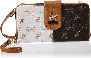 BHPC Womens Wristlet Bag, TAN/BROWN - WB54VAM1