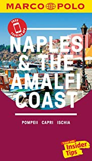Naples & the Amalfi Coast Marco Polo Pocket Travel Guide - with pull out map
