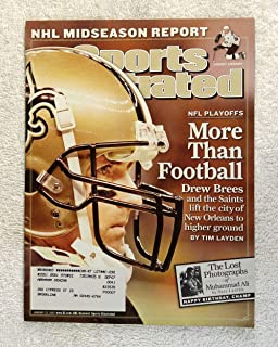 More Than Football - Drew Brees and the Saints lift the city of New Orleans to higher ground - Hurrican Katrina - Sports Illustrated - January 22, 2007 - NFL Playoff Coverage - SI