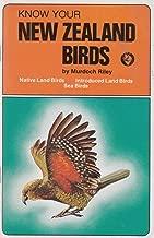 Know Your New Zealand Birds (Native Birds, Sea Birds, Introduced Land Birds)