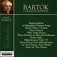 Mikrokosmos, BB 105, Vol. 2: Nos. 49-56. Crescendo-Dimenuendo. Minuet. Waves. Unison Divided. In Transylvanian Style. Chromatic. Triplets in Lydian Mode. Melody in 10ths