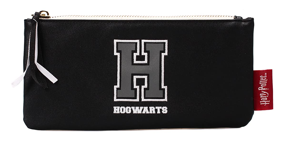 Harry Potter Pencil Case H for Hogwarts Half Moon Cancelleria
