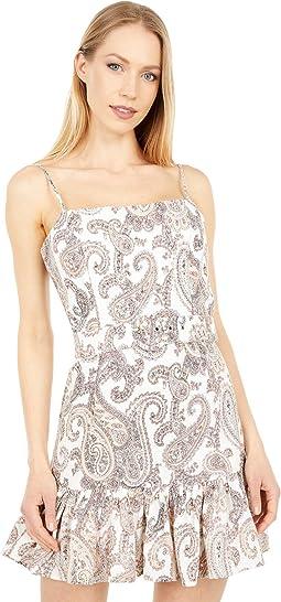 Paisley Linen Dress