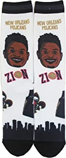 PKWY NBA Unisex 1-Pack Pins Player Crew Socks