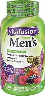 Vitafusion Men's Gummy Vitamins, 150 Count Multivitamin for Men(natural berry flavors)
