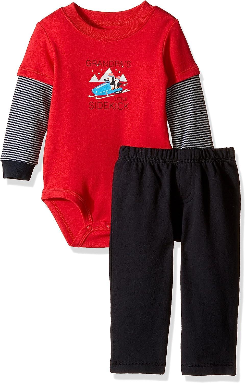 Carter's baby-boys 2-piece Bodysuit Set