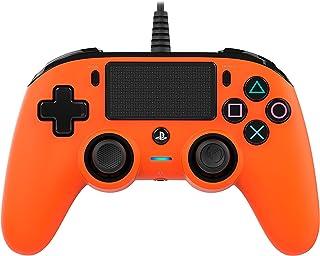 Nacon - Mando Compacto para PS4, color Naranja