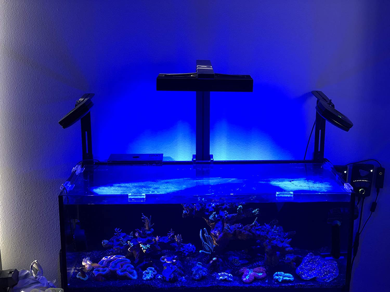 AquaIllumination Hydra FiftyTwo +HD LED Light, Black by AquaIllumination
