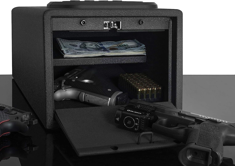 Houston Mall Biometric Gun Safe High Capacity Fingerprint Vault Super intense SALE L Multi