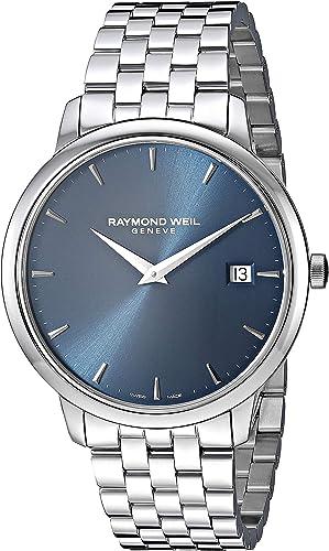 Amazon.com: Raymond Weil Men's 5588-ST-50001 Toccata Analog Display Quartz  Silver Watch : Clothing, Shoes & Jewelry