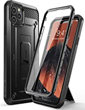 Supcase Unicorn Beetle Pro Series Case Designed for iPhone 11 Pro Max 6.5 Inch (2019 Release), Built-in Screen Protector Full-Body Rugged Holster Case (Black)