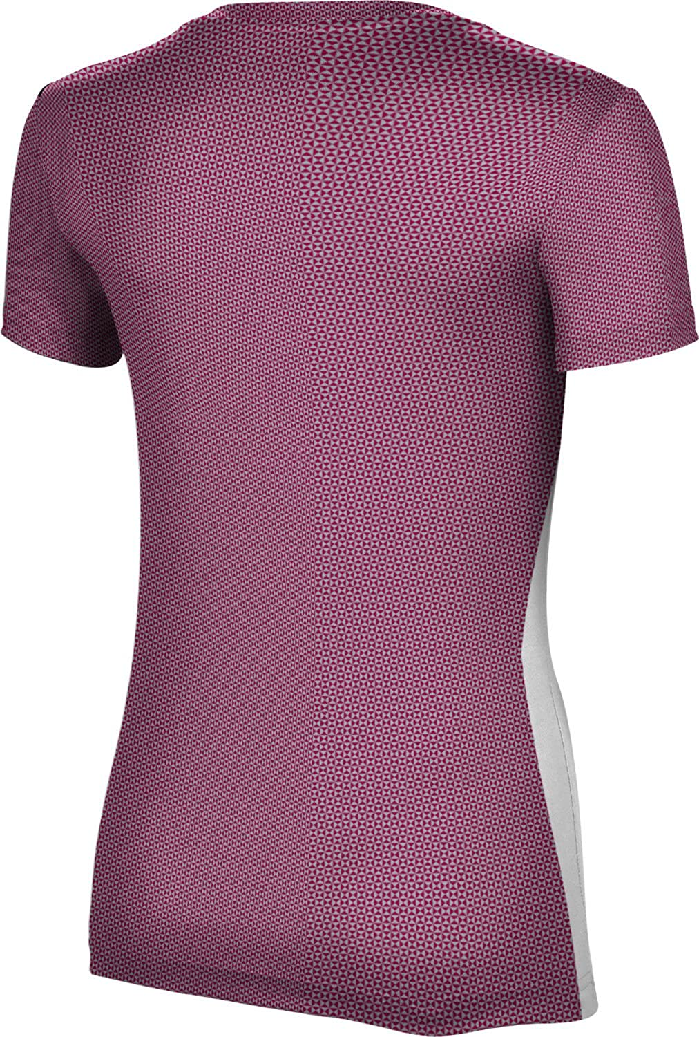 State University of New York at Potsdam Girls' Performance T-Shirt (Embrace) F9A45 Red and Gray