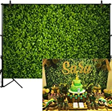 Allenjoy 10x8ft Fabric Green Leaves Backdropfor Studio Photography Natural Grass Leaf Pictures Background Bride Baby Shower Spring Birthday Party Outdoorsy Photo Booth Prop Wedding Decoration Supply