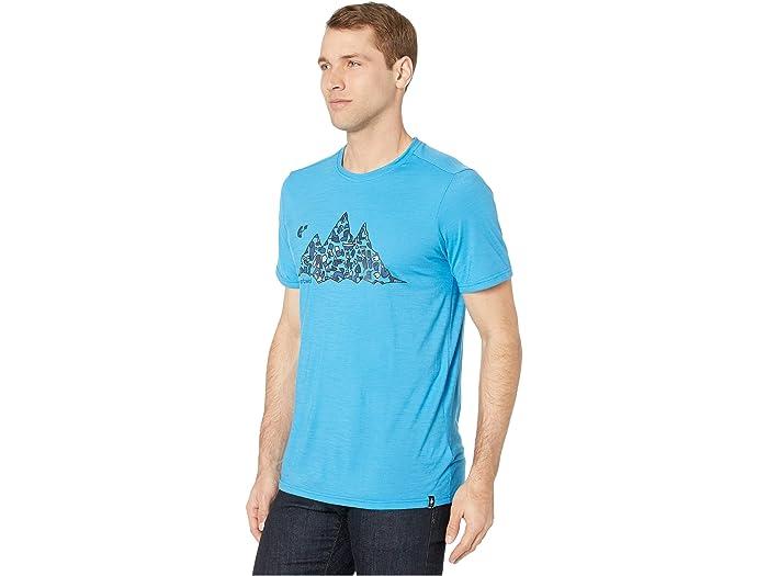 Smartwool Merino Sport 150 Glouton Tee Ocean Blue Shirts & Tops