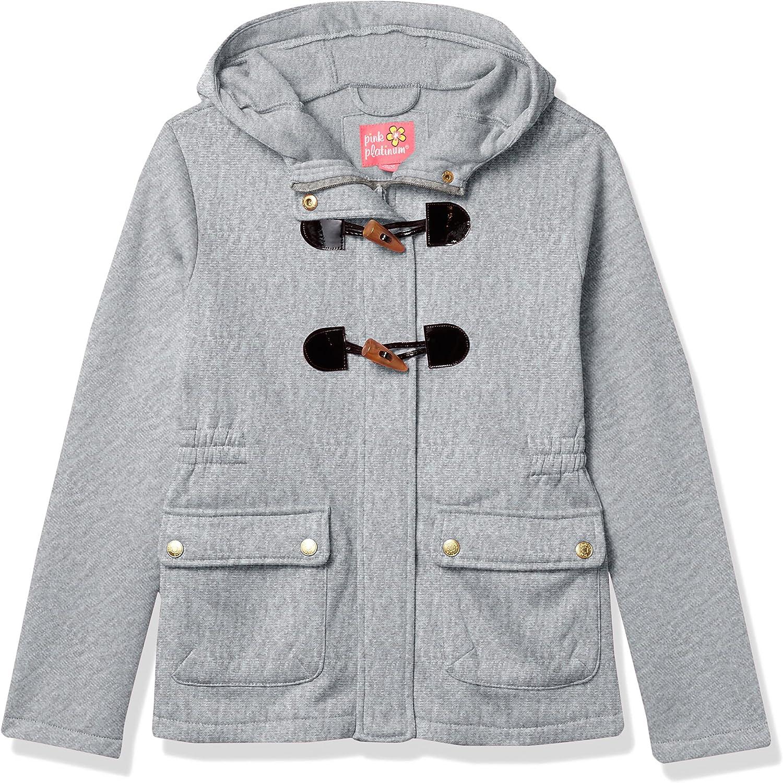 Pink Dedication Finally resale start Platinum Girls' Lightweight Fleece Jacket Hooded
