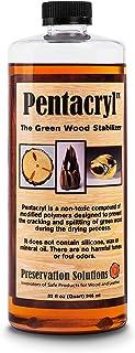 Preservation Solutions   Pentacryl 32oz   Green Wood Stabilizer