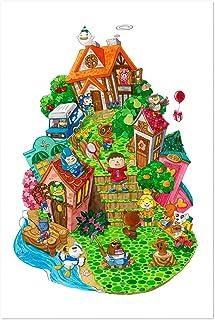 Noir Gallery Animal Crossing New Leaf Painting 11