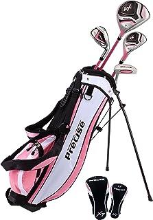 PreciseGolf Co. Precise X7 Junior Complete Golf Club Set for Children Kids – 3 Age..