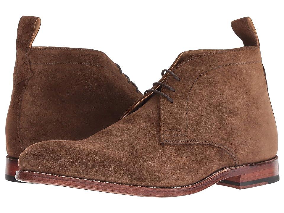 Grenson Marcus Desert Boot (Espresso Velvet Suede) Men