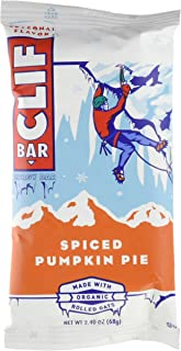 CLIF BAR - Energy Bar - Spiced Pumpkin Pie - (2.4 Ounce Protein Bar, 12 Count)
