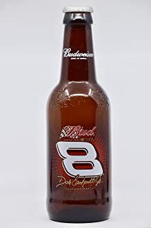 Budweiser - NASCAR - Dale Earnhardt Jr/Bud Beer Bottle w/Cap - 14 Inches - Rare - Collectible