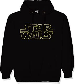 Mens Retro Certified Star Wars Fanatic T Shirt Black NEW