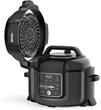 Ninja OP302 Foodi 9-in-1 Pressure, Broil, Dehydrate, Slow Cooker, Air Fryer, and More, with 6.5 Quart Capacity and 45 Reci...