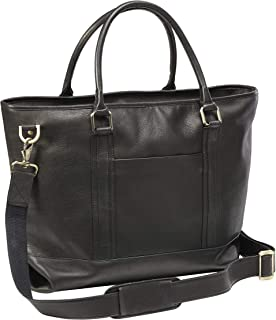 Clava Leather Roadster Travel Tote (BLACK)