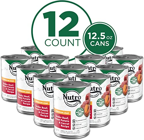 high quality NUTRO Kitchen 2021 Classics Adult Wet Dog new arrival Food, Premium Loaf 12.5 Ounce Cans (Pack of 12) outlet online sale