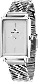 Daniel Klein Premium Alloy Case Mesh Band Ladies Wrist Watch - DK.1.12469-1, silver