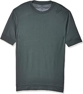 Armani Exchange Men's 3GZTLG T-Shirt, Green (Urban Chic 1839), Medium