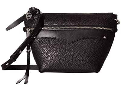 Rebecca Minkoff Hayden Crossbody (Black) Handbags