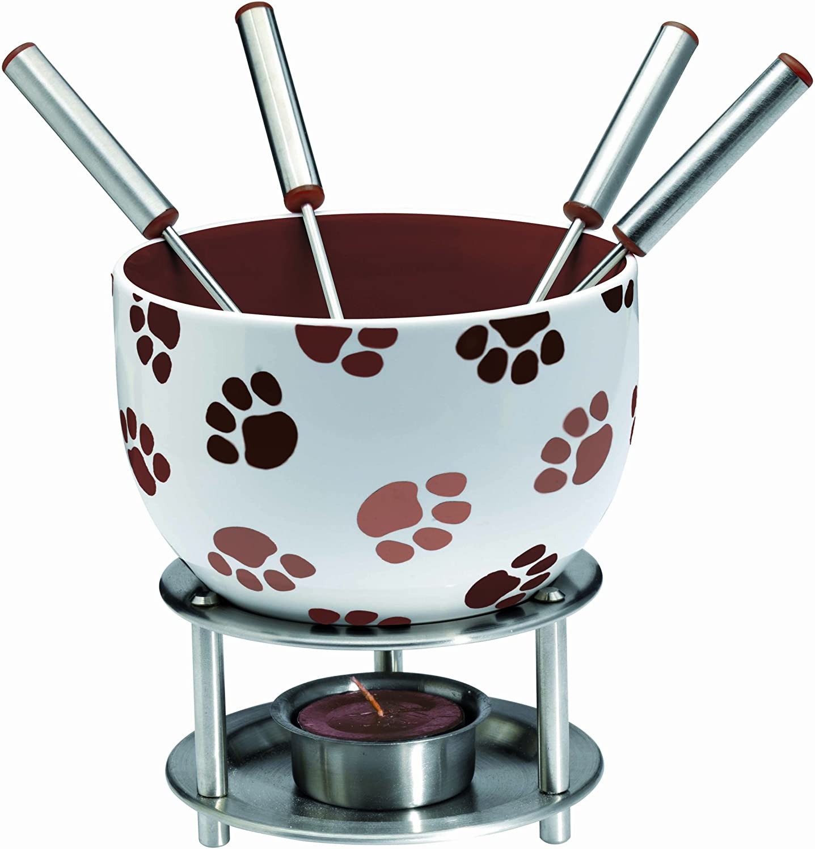 Cookware Kitchen & Dining ghdonat.com Ceramic Butter Warmer Fondue ...
