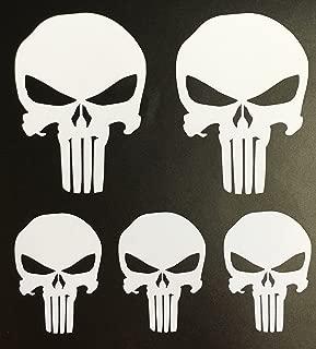 C60048 White Punisher Set of 5 (2-2x3