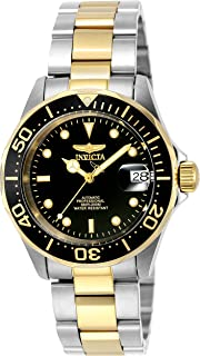 Invicta Men's 8927 Pro Diver Collection Automatic Watch, Gold-Tone/Black